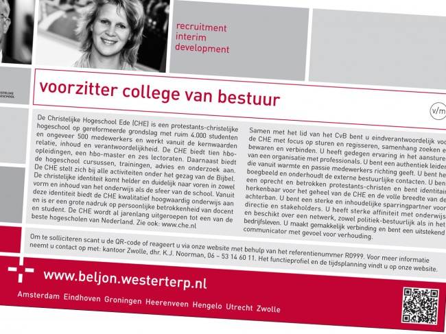 Advertentie B+W